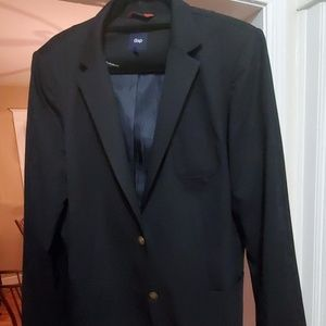 GAP Jackets & Coats - GAP Lightweight Navy Blue Blazer 14Tall